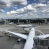 L'aéroport de Francfort, juillet 2017. Photo François Meylan
